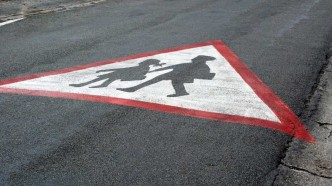 SIGNALISATION ATTENTION ECOLE